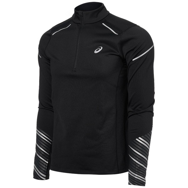 "Мужская кофта для бега Asics Lite-Show Winter 2 Long Sleeve 1/2 Zip Top ""19-20"