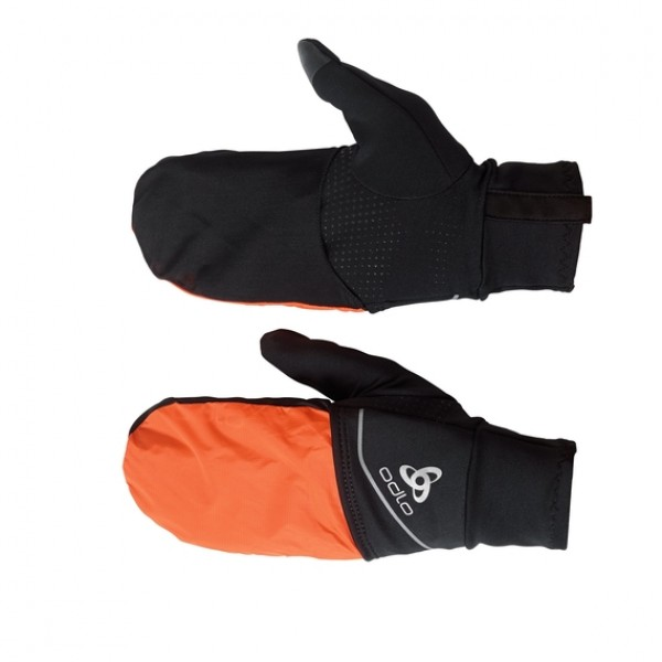 "Перчатки для бега Odlo Gloves Intensity Covers Safety Light ""20"