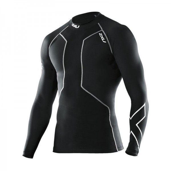 Мужская компрессионная футболка для восстановления 2XU Recovery Compression L/S Top